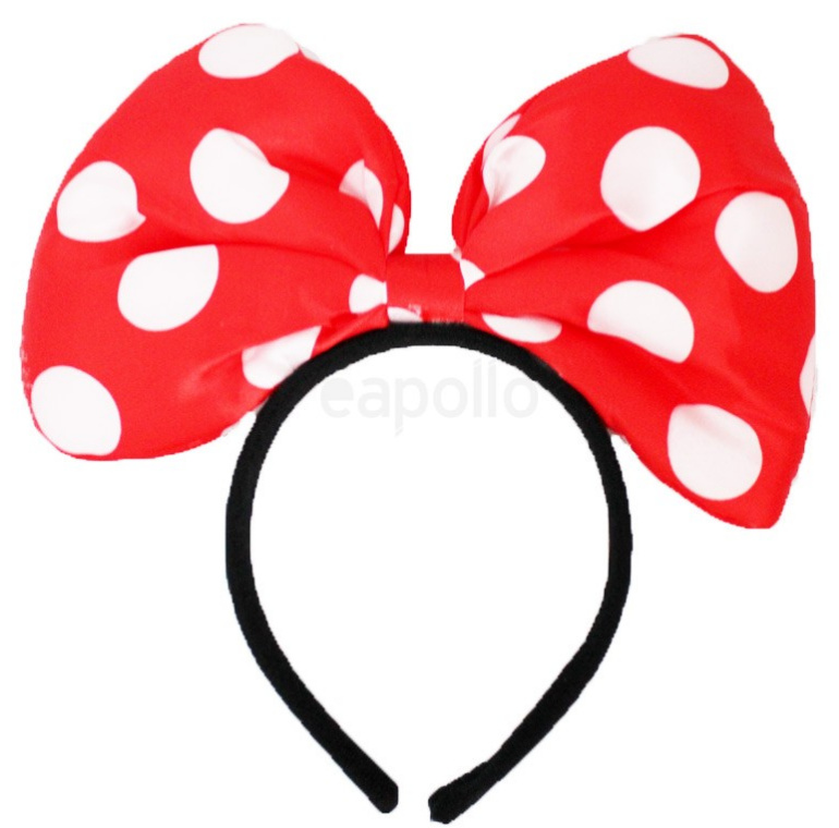 minnie mouse hårbøjle