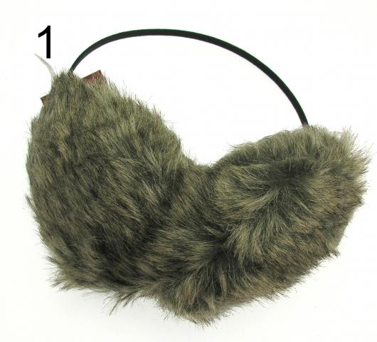 435459e3 Ørevarmere - Imiteret Pels - Fake Fur - Huer - Hatte - Ørevarmere ...