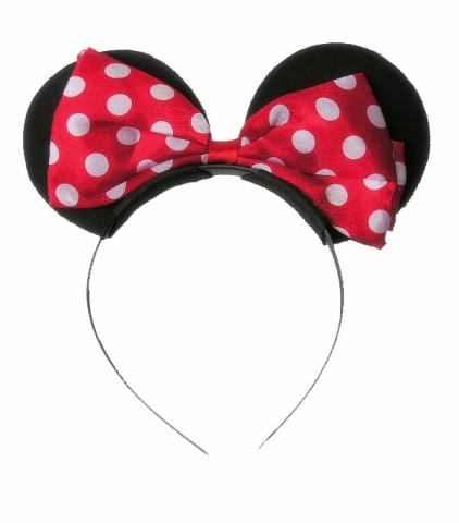 minnie mouse ører hårbøjle